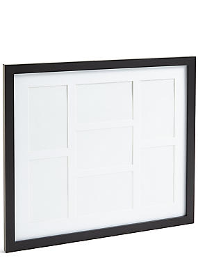 Multi Aperture Core Photo Frame 10 x 15cm (4 x 6inch), BLACK, catlanding