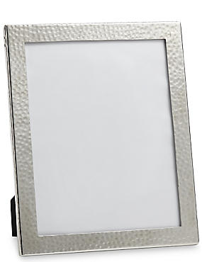 Hammered Metal Photo Frame 20 x 25cm (8 x 10inch)