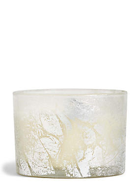 White Tea & Lychee Large Glitter Foil Candle