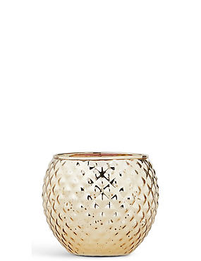 Rose Gold & Oud Small Round Candle