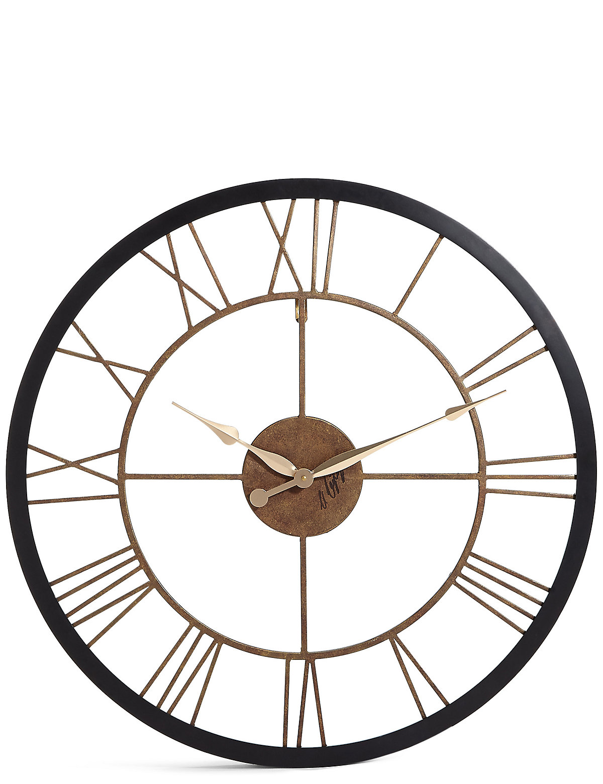 Mirrors wall art clocks for your home ms rustic wall clock amipublicfo Gallery