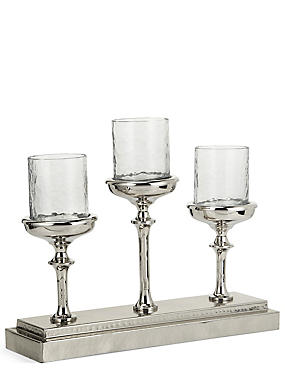 3 Manor Pillar Candleholder