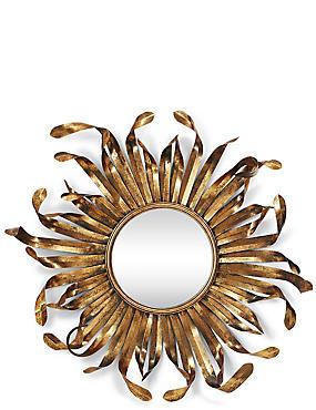 Curling Sun Mirror, , catlanding