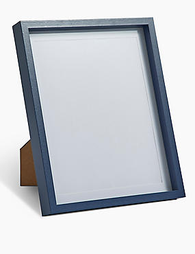 Photo Frame 20 x 25 cm (8 x 10 inch), FRENCH NAVY, catlanding