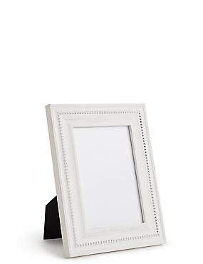 Josephine Photo Frame 12 x 17cm (5 x 7 inch), WHITE, catlanding
