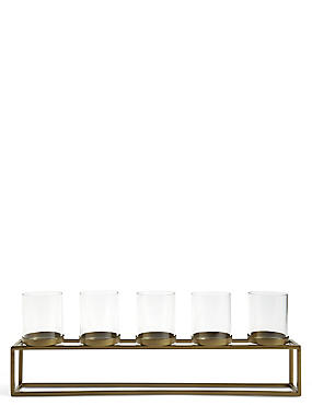 Statement Long Tea Light Holder