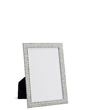 Natalie Diamanté Photo Frame 13 x 18cm (5 x 7inch), , catlanding