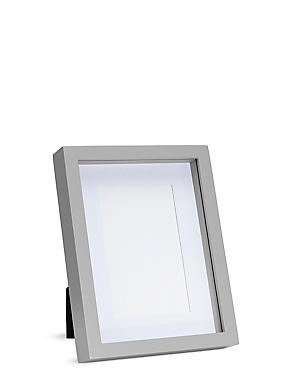 Solid Wood Photo Frame 10 x 15cm (4 x 6inch), GREY, catlanding