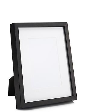 5x7 Solid Wood Photo Frame, BLACK, catlanding