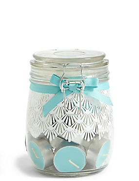 Coastal Walk Tea Light Jar
