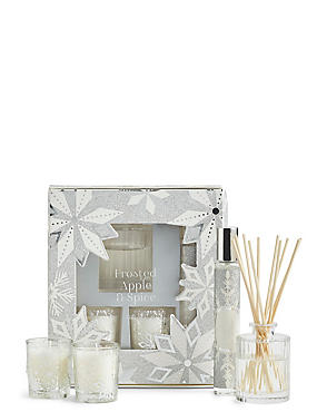 Frosted Apple & Spice Gift Set