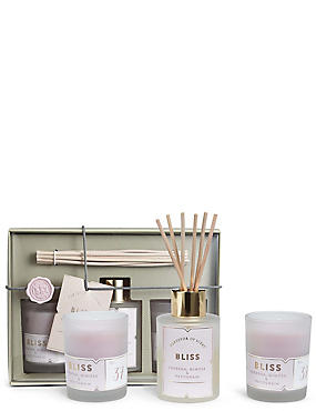 Bliss Diffuser + Candle Gift Set