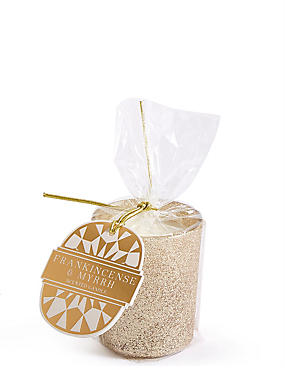Frankincense & Myrrh Scented Gift Candle