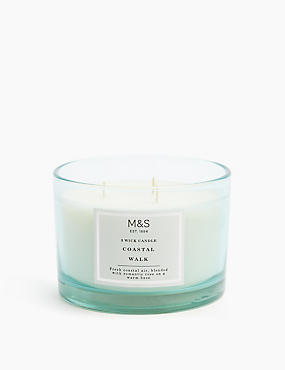 Coastal 3 Wick Candle