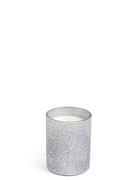 Frosted Apple & Spice Scented Filled Candle