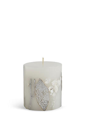 Frosted Apple & Spice Scented Small Inclusion Candle