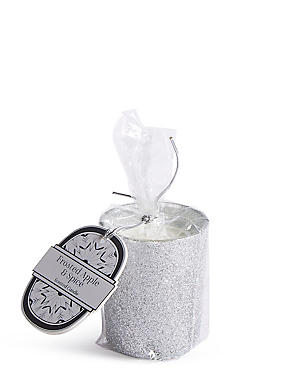 Frosted Apple & Spice Scented Gift Candle