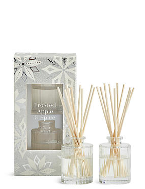 Frosted Apple & Spice Twin Diffuser