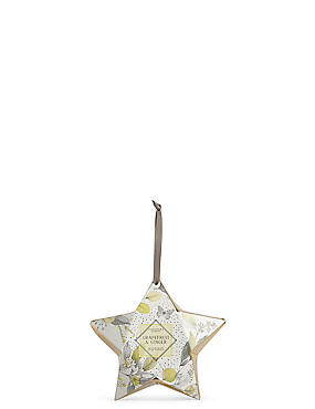 Grapefruit & Ginger Star Gift Candle