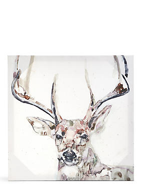 Jennifer Goldberger Majestic Stag Canvas Wall Art