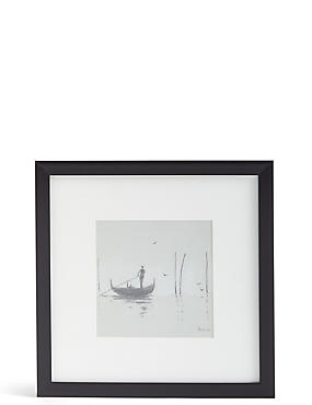 Venice Mist II Framed Wall Art