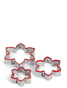 Snowflake Cookie Cutter Set, , catlanding