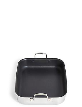 Chef Tri Ply Non Stick Roaster, , catlanding