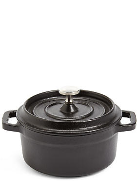 Chef Mini Cast Iron Casserole Dish