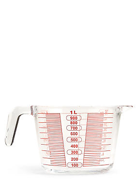 1 Litre Glass Measuring Jug