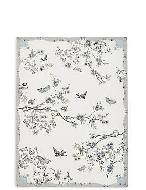 Dove Pale Single Tea Towel
