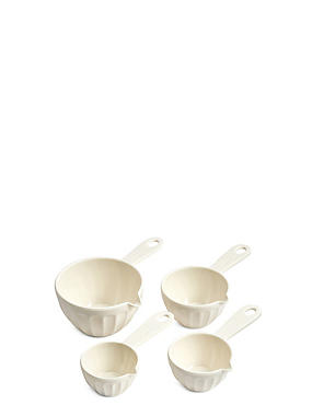 Set of 4 Melamine Measuring Cups
