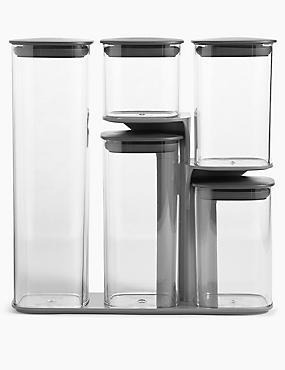 Set of 5 Podium Storage, , catlanding