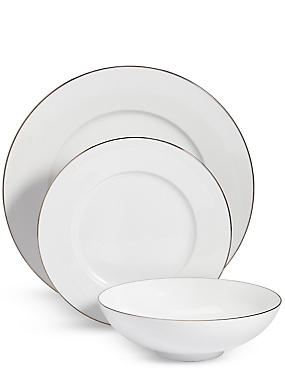 12 Piece Maxim Platinum Dinner Set