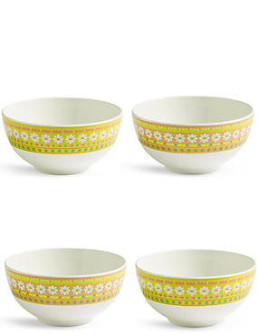 Set of 4 Easter Bowls