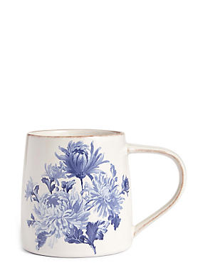 Jumbo Floral Antique Mug