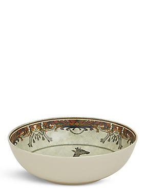 Safari Melamine Salad Bowl