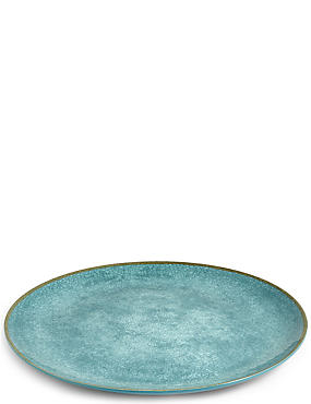 Crackle Tray Azure