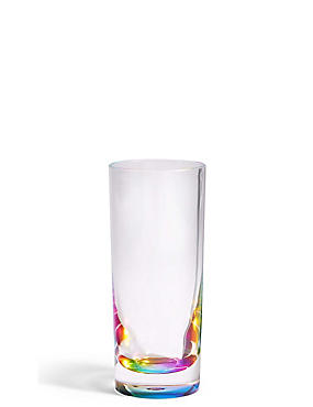 Rainbow Picnic Hi Ball Glass, , catlanding
