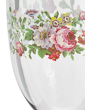 Frida Floral Picnic Wine Glass