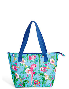 Frida Floral Shopper Bag