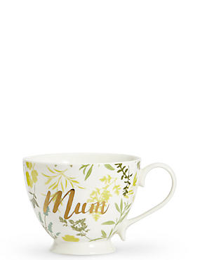 Mum Footed Mug