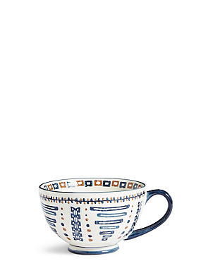 Safari Geometric Print Mug