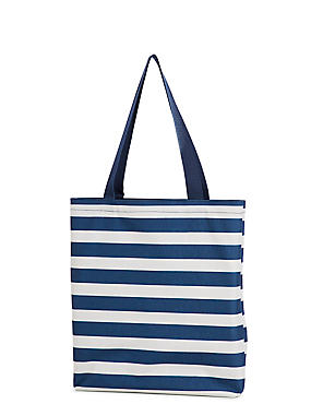 Foldable Picnic Blanket to Tote Bag, NAVY MIX, catlanding