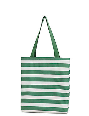 Foldable Picnic Blanket to Tote Bag, GREEN MIX, catlanding