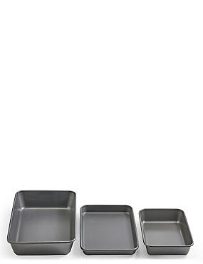 Set of 3 Roasting Trays