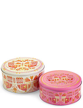 Set of 2 Marigold Cake Tins