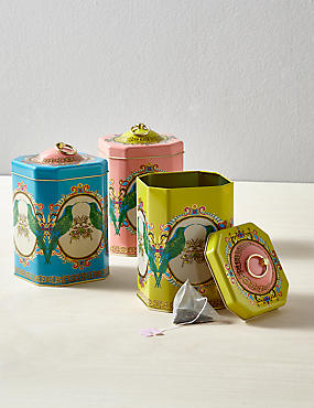 Frida Set of 3 Tea Coffee Sugar Tins