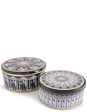 Set of 2 Manhattan Cake Tins