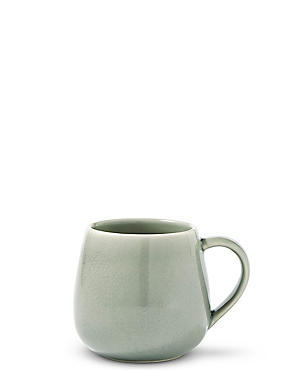 Crackle Mint Mug