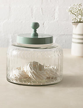 Vintage Glass Small Jar